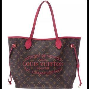 Louis Vuitton Ikat Neverfull Mm Shoulder Tote Bag